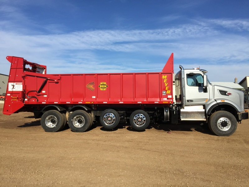 truck mount spreaders meyer manufacturing corporation