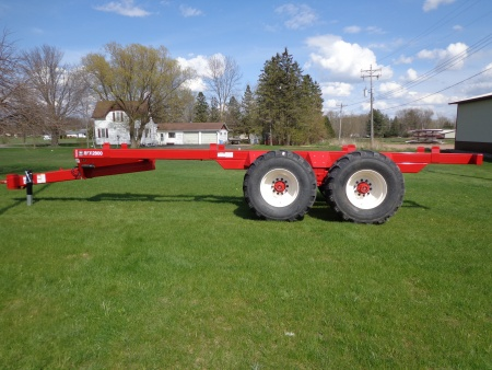 HFX2800 Tandem Trailer / High Floation - Suspension Axle - 28 Ton