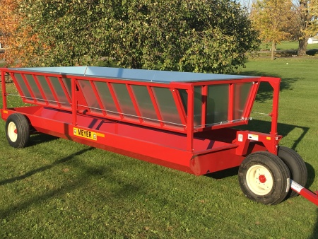 "Meyer ""P Series"" Dolly Wheel Bunk Feeder"