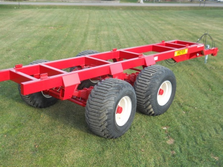 XTSS2700+ Tandem Trailer / Suspension-Steer Axle - 27 Ton
