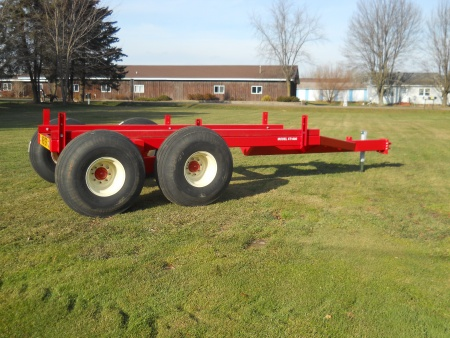 XT1600 Tandem Trailer / Oscillating Axles - 16 Ton